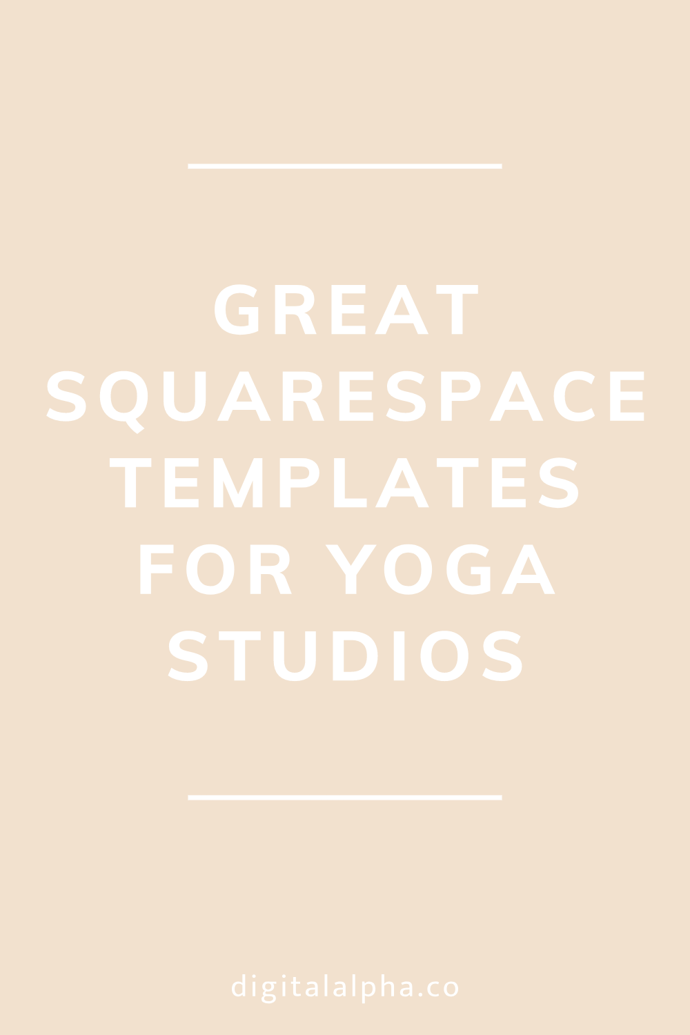 Great Squarespace Templates for Yoga Studios Digital Alpha - Squarespace Designer.png
