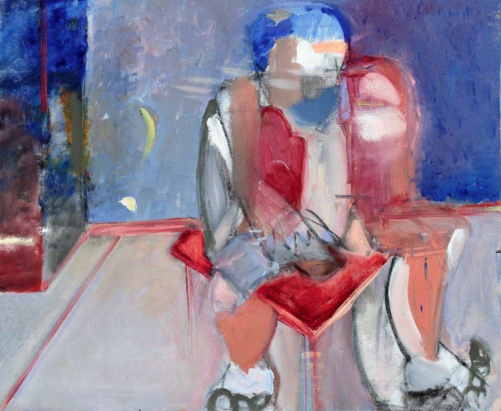 "#2, 2017, Oil on Canvas, 30 x 36"""
