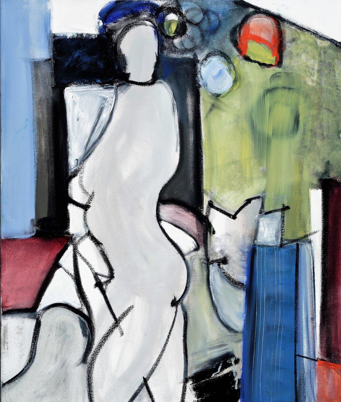 "#3, 2017. Oil on Canvas, 36 x 30"""