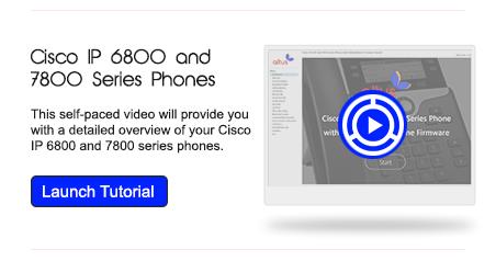 Cisco 6800 & 7800 Series Phones
