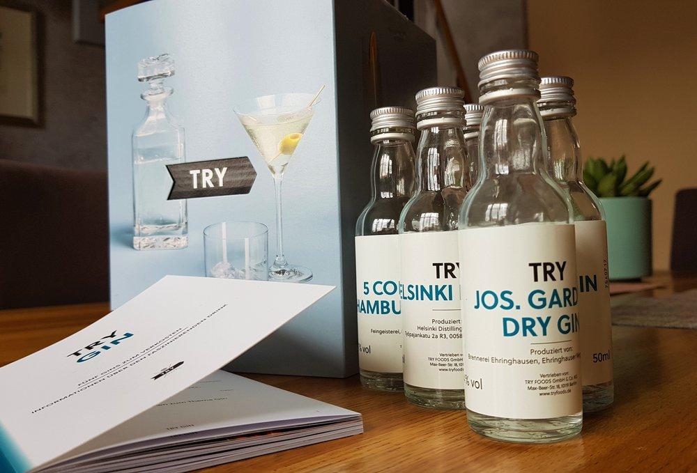 Das Gin Probierpaket