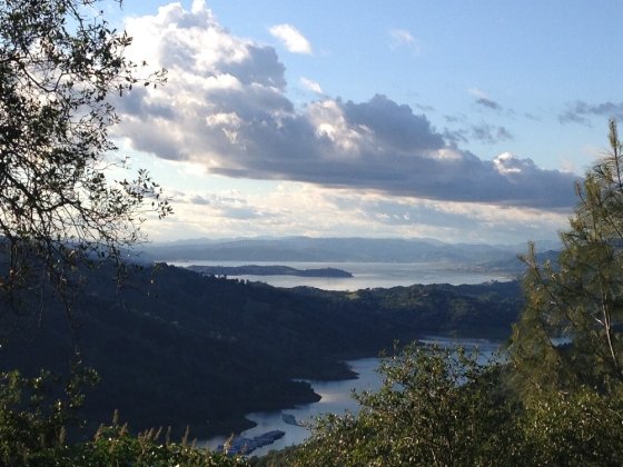 View of Lake Berryessa from UC Davis' Quail Ridge Reserve field station