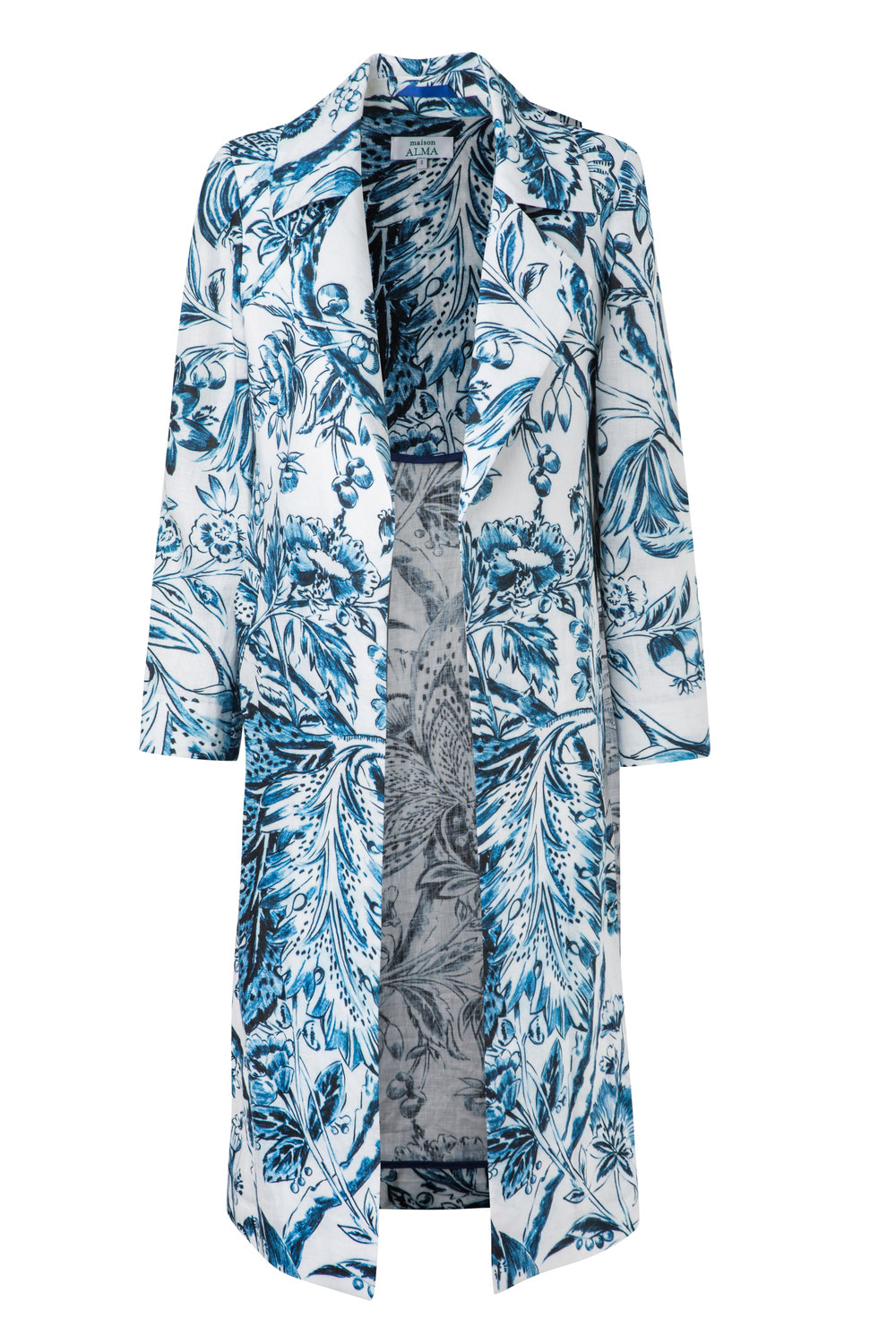 Flores Catay  Relaxed Trench Coat