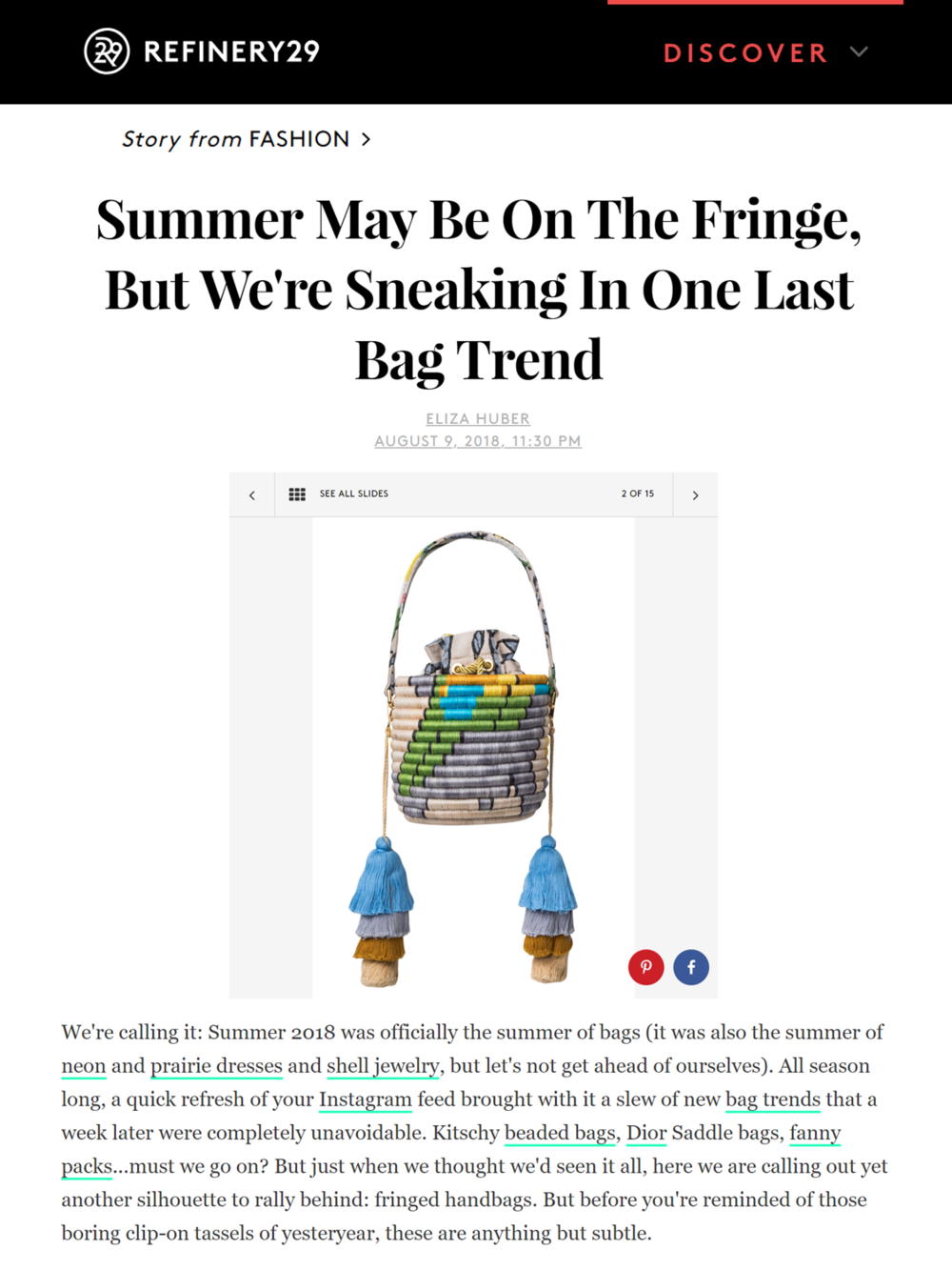 REFINERY 29 MAISON ALMA BUCKET BAG DOS LOROS TASLES PRESS.png