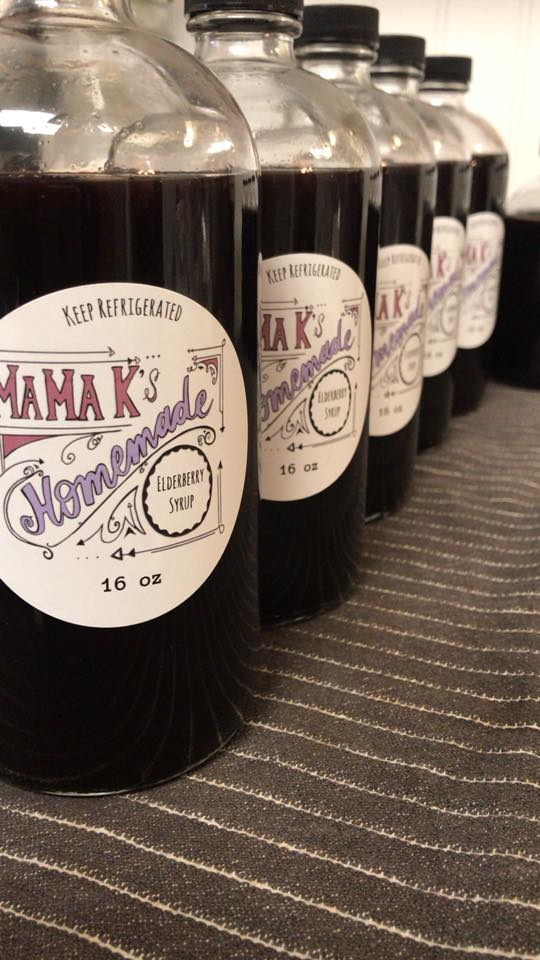 Mama K's Homemade Elderberry Syrup