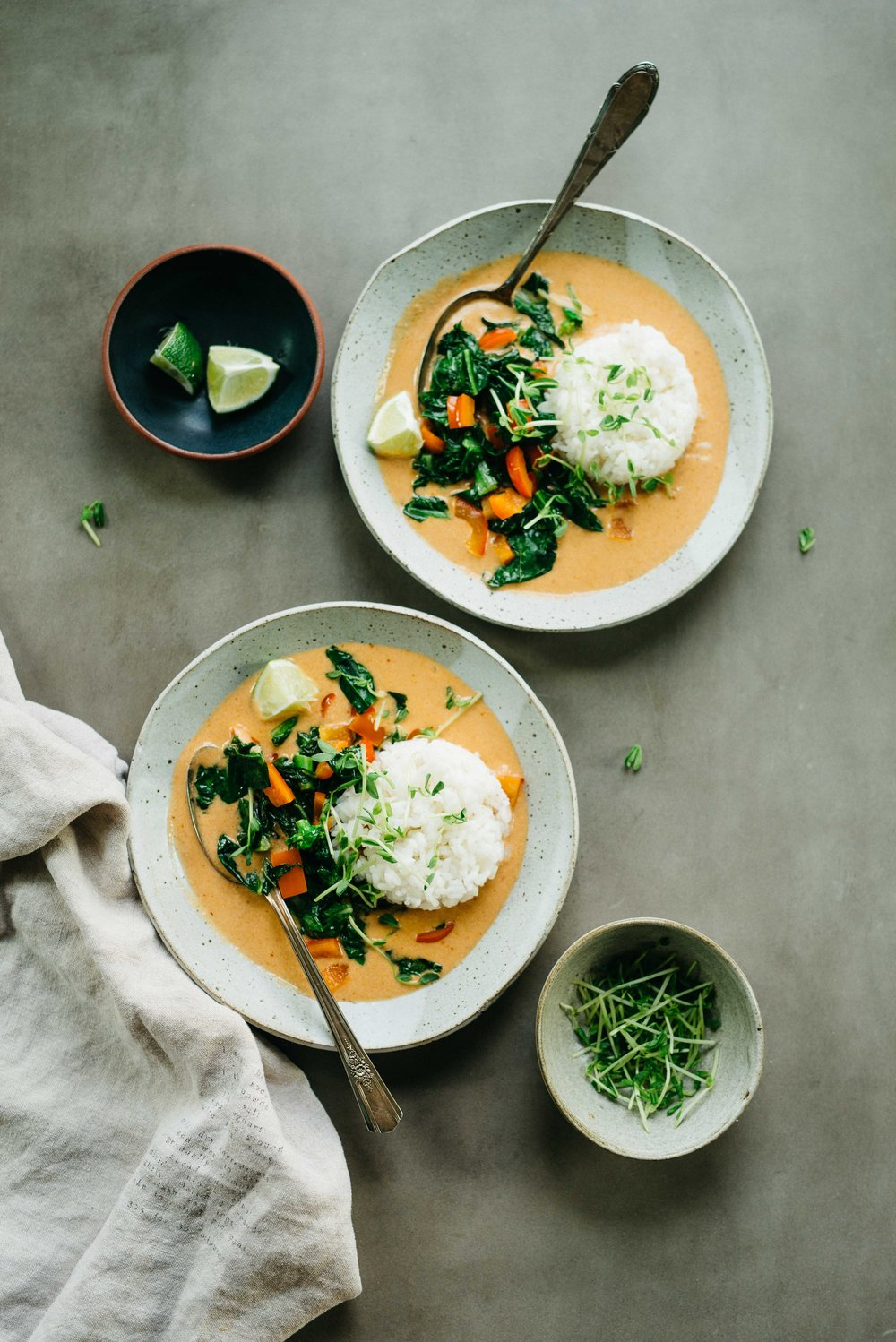 Peanut veggie curry - Pair with a good sake (cold of course!)