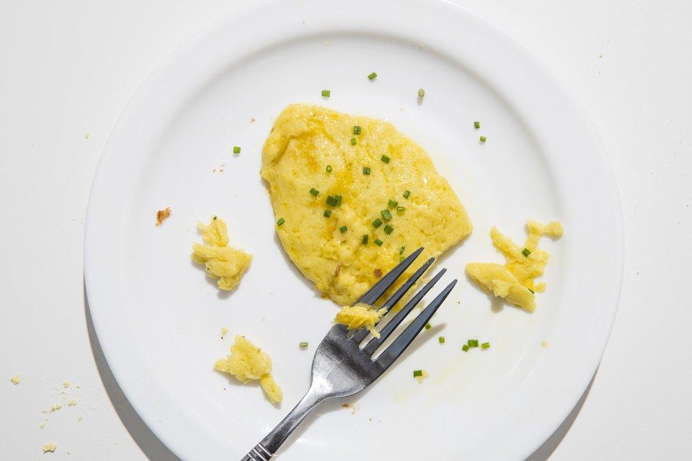 Voila! Scrambled eggs - Well, kind of!