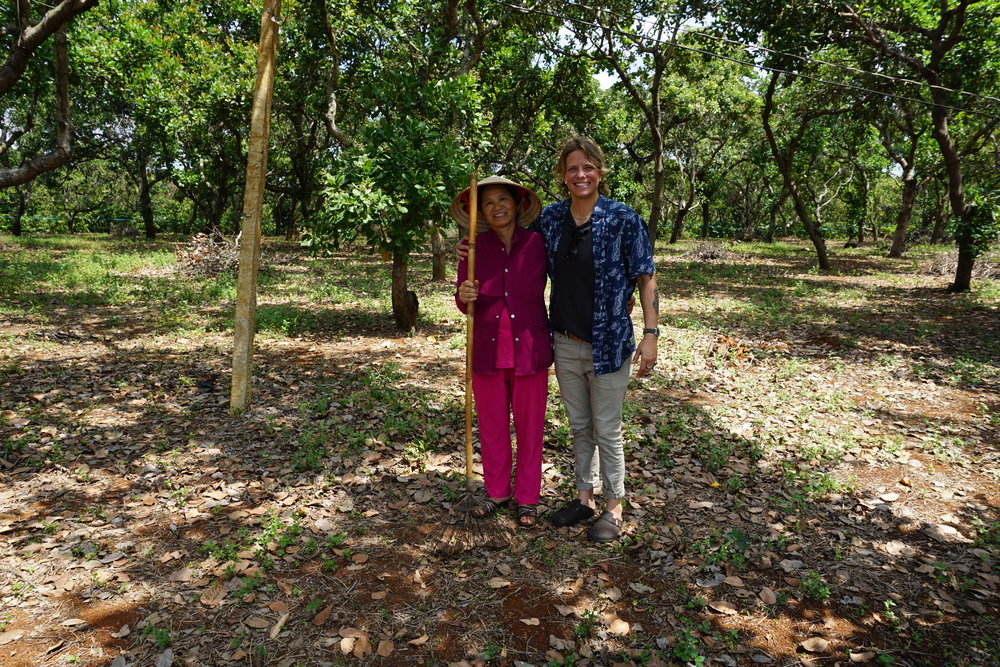 Cashew trees require no irrigation! - Our supplier is the 2nd largest employer in the town, a true supporter of this rural, farming commuinity.