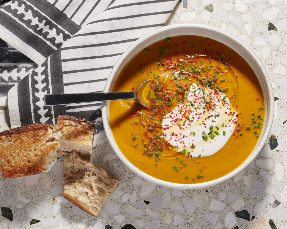 Spiced Carrot Soup - Made with our Cashewgurt®