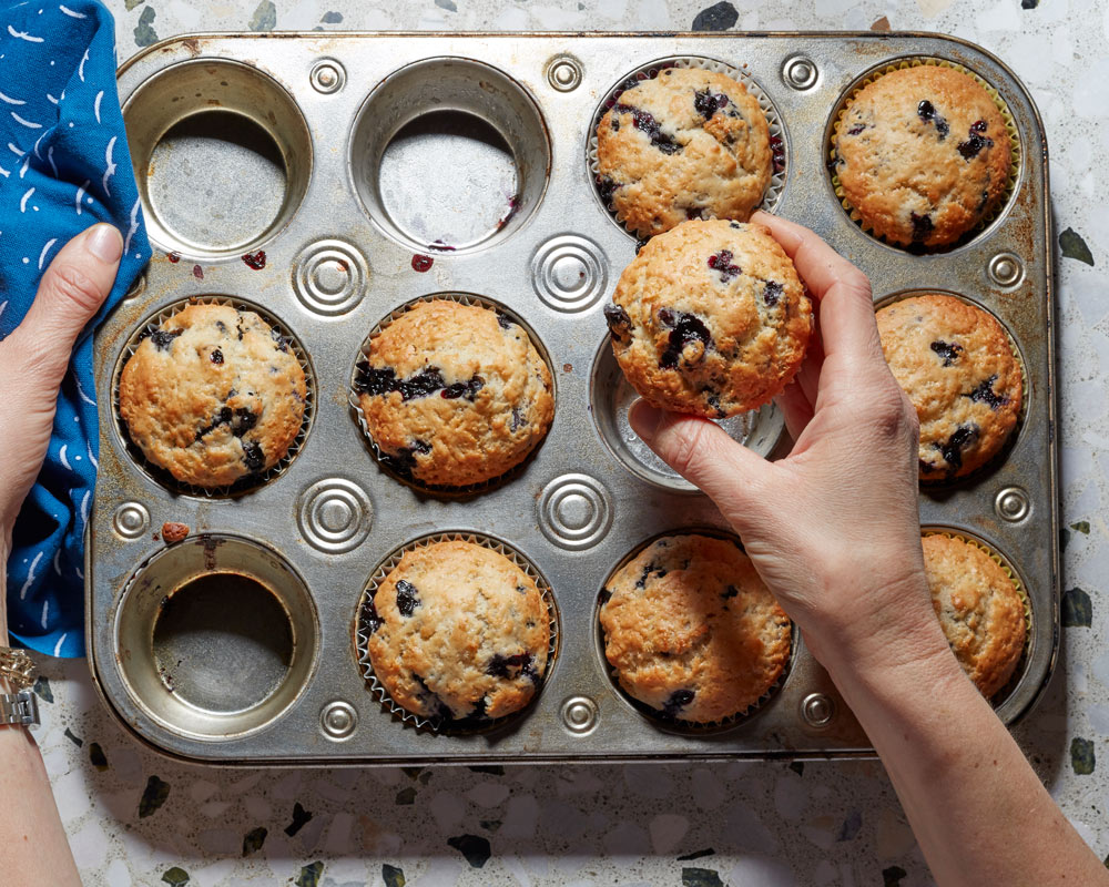 Vegan Muffins - Use any berrys you like!