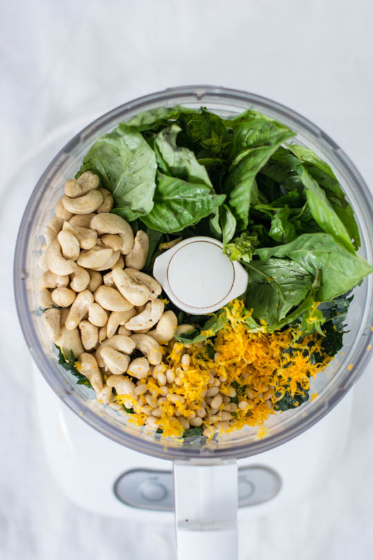 Swap basil for parsley - Try orange zest instead of lemon!