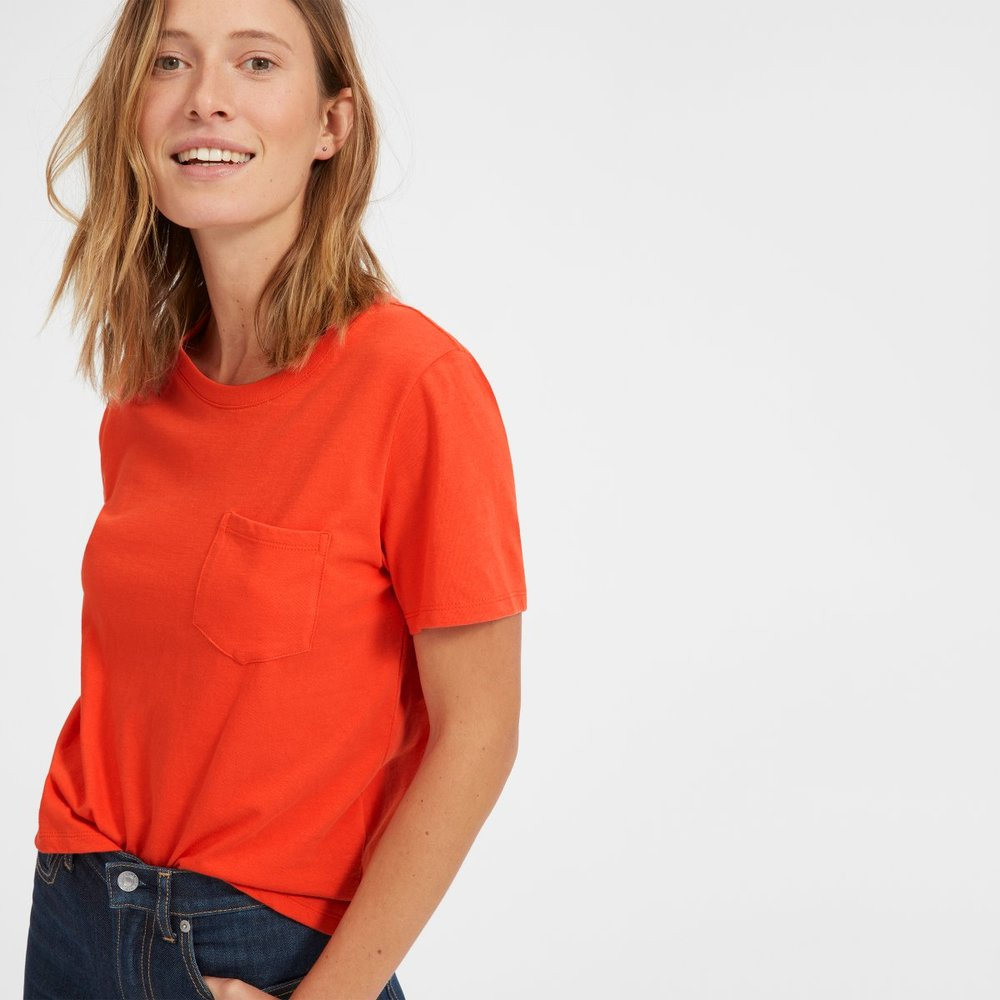Sustainable essentials - Everlane from San Francisco uses only sustainable fabrics