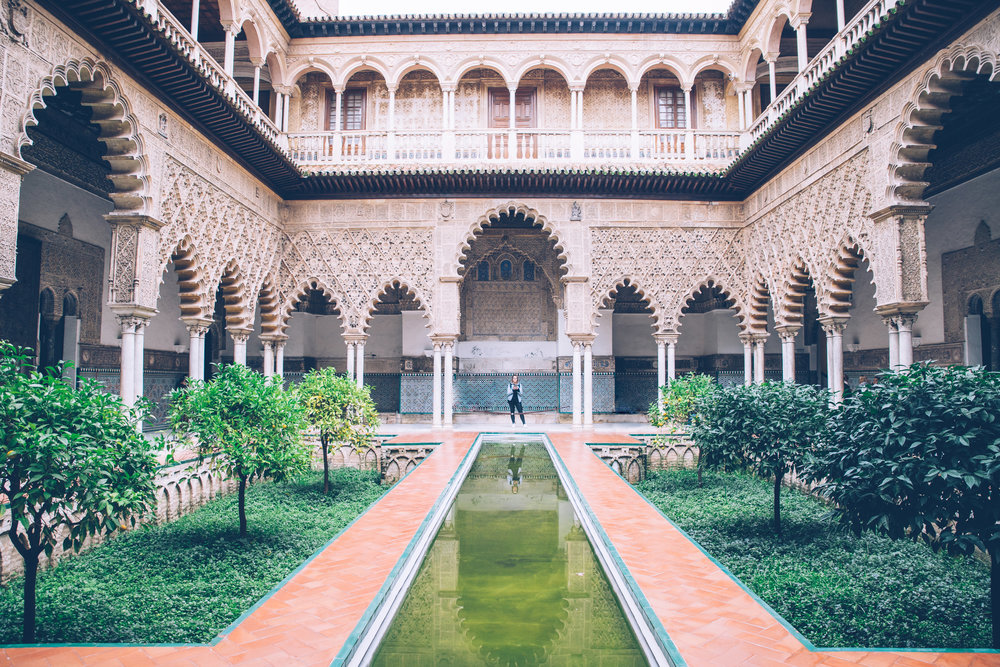 SEVILLE, SPAIN - Cathedrals, Palaces & Oranges