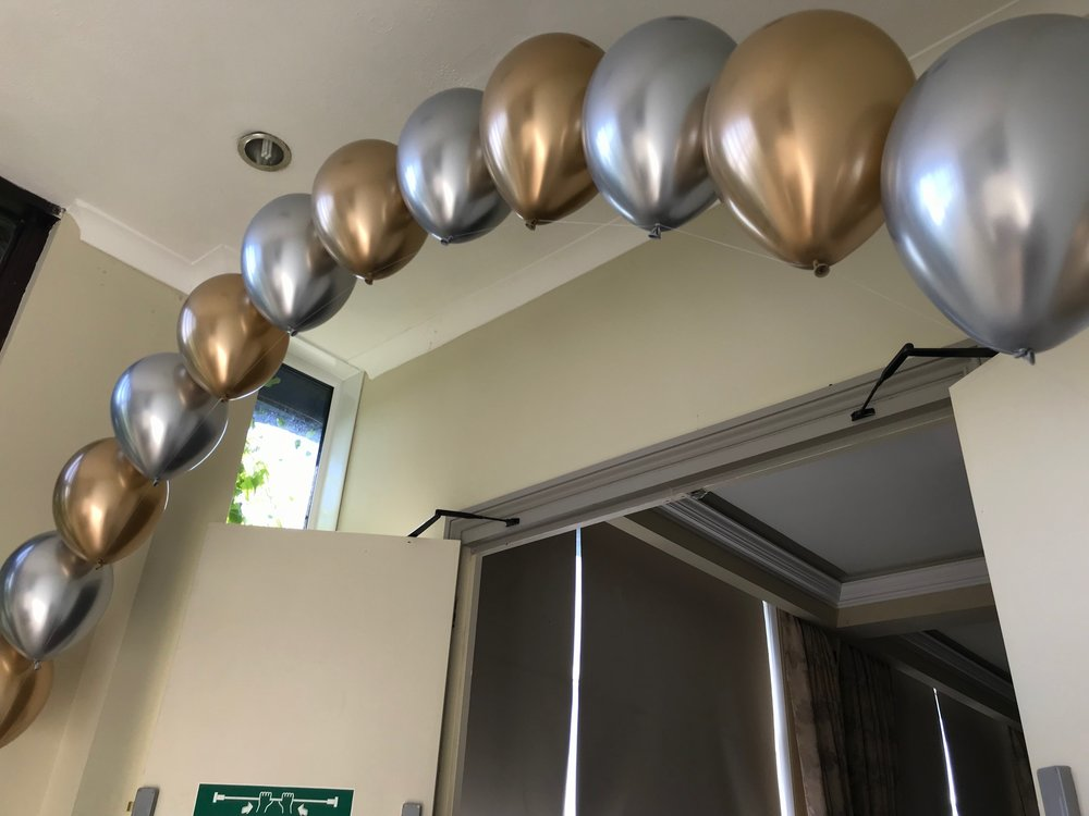 Silver and Gold Chrome Balloon Arch.jpg