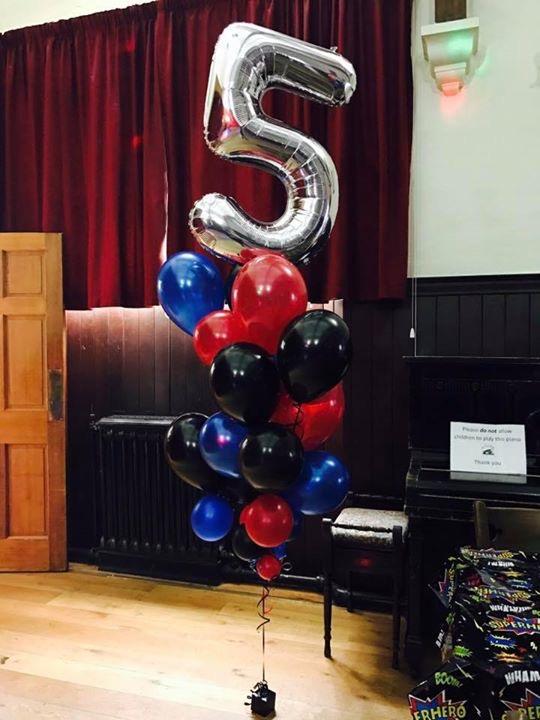 Age 5 Numeber Balloon