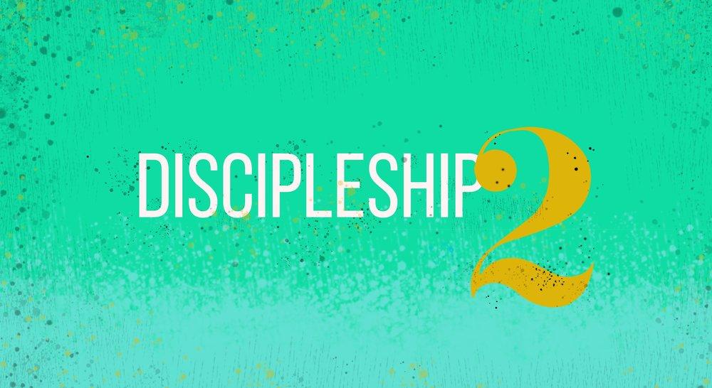 Discipleship 2 banner