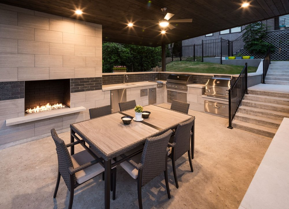 Outdoor Kitchen in Davenport Ranch