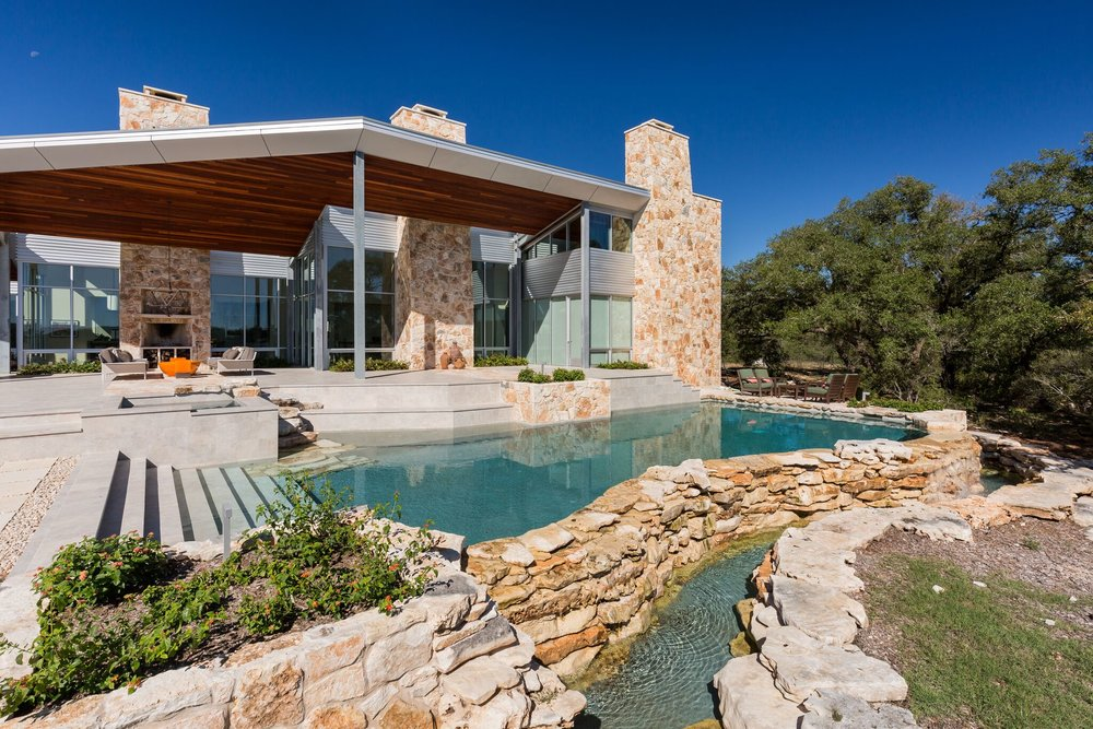 Custom Pool Builder in Wimberley