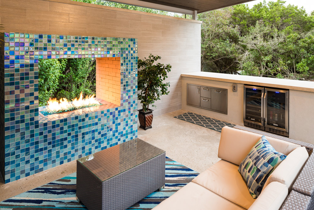Outdoor living spaces in San Marcos