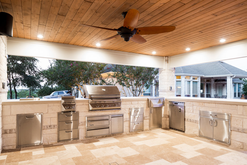 Austin Outdoor Kitchen Contractor