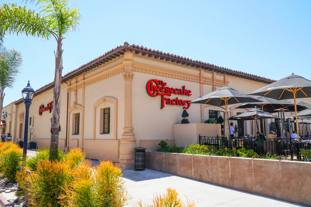 The Cheesecake factory | San Diego