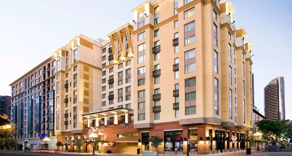 marriott residence inn Gaslamp quarter | San diego