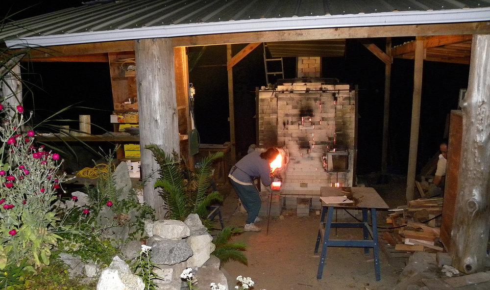 Feeding the hungry kiln