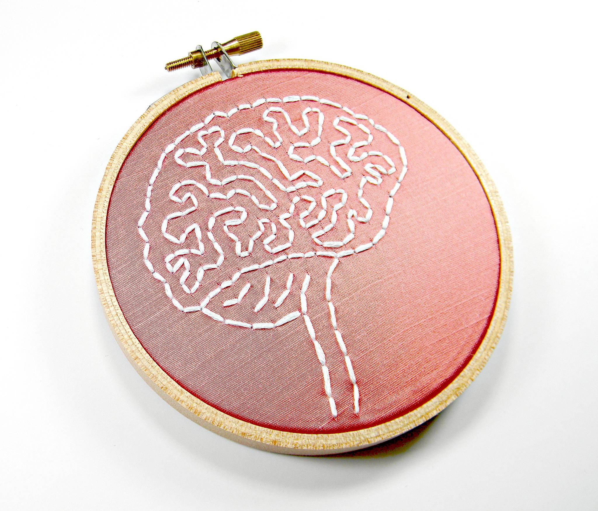 Brain Stich Embroidery Art