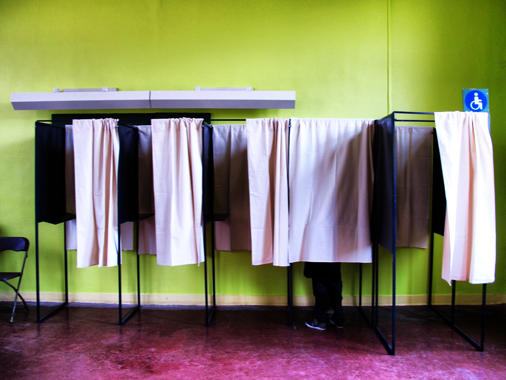 Polling Booths Election Day