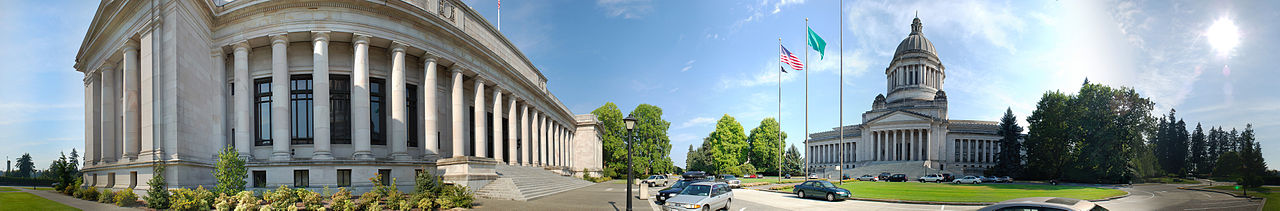 Washington State Capitol Building Panorama Photo