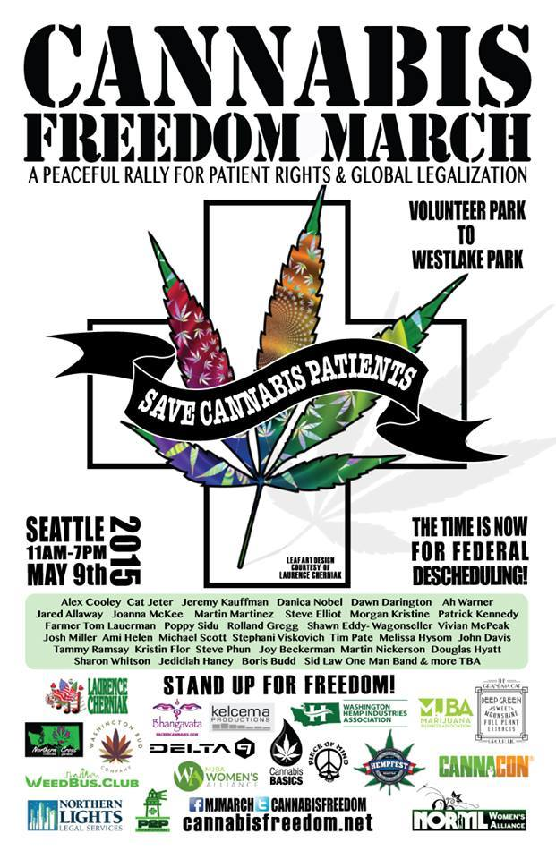 Cannabis Freedom March Poster