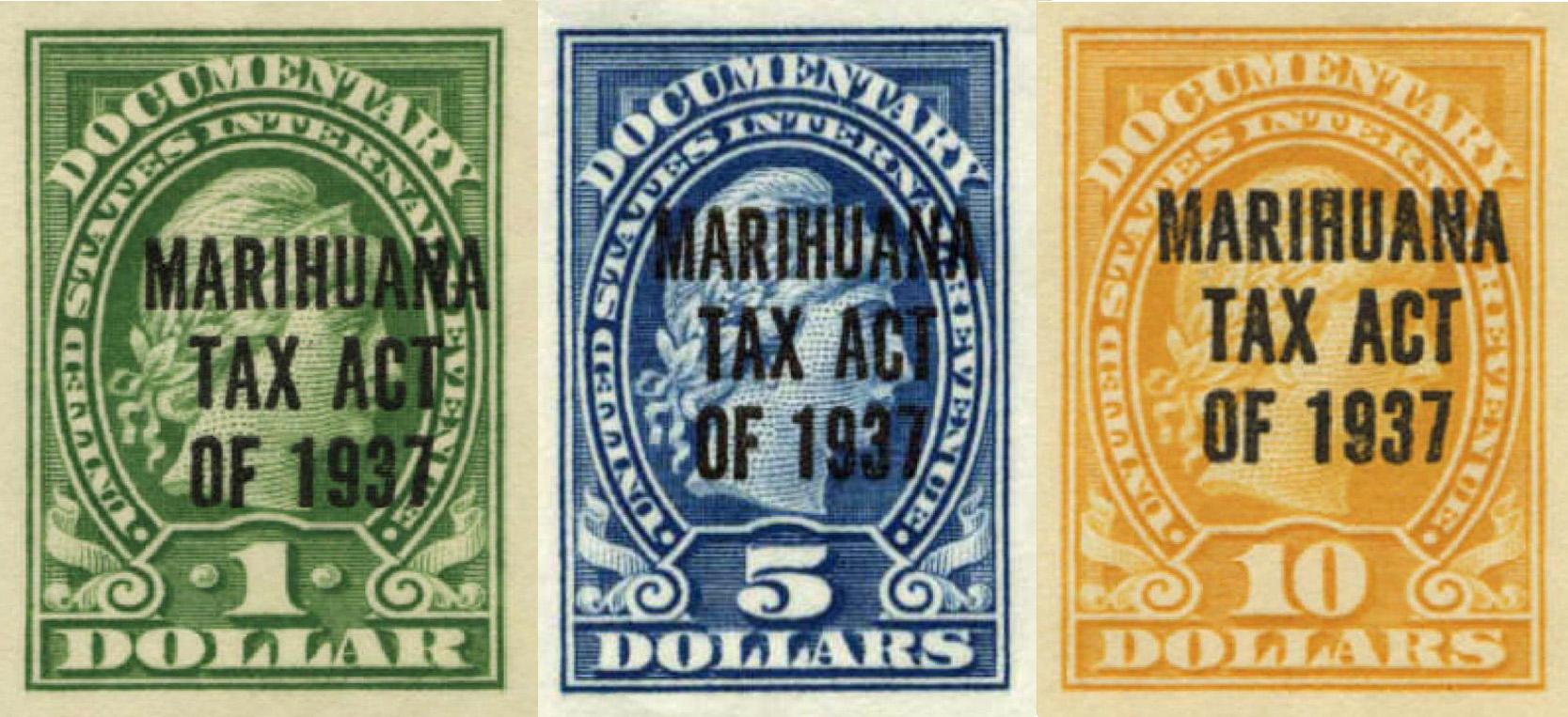 Marihuana Tax Act Stamps