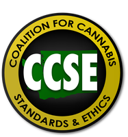 CCSE Coalition for Cannabis Standards and Ethics Logo