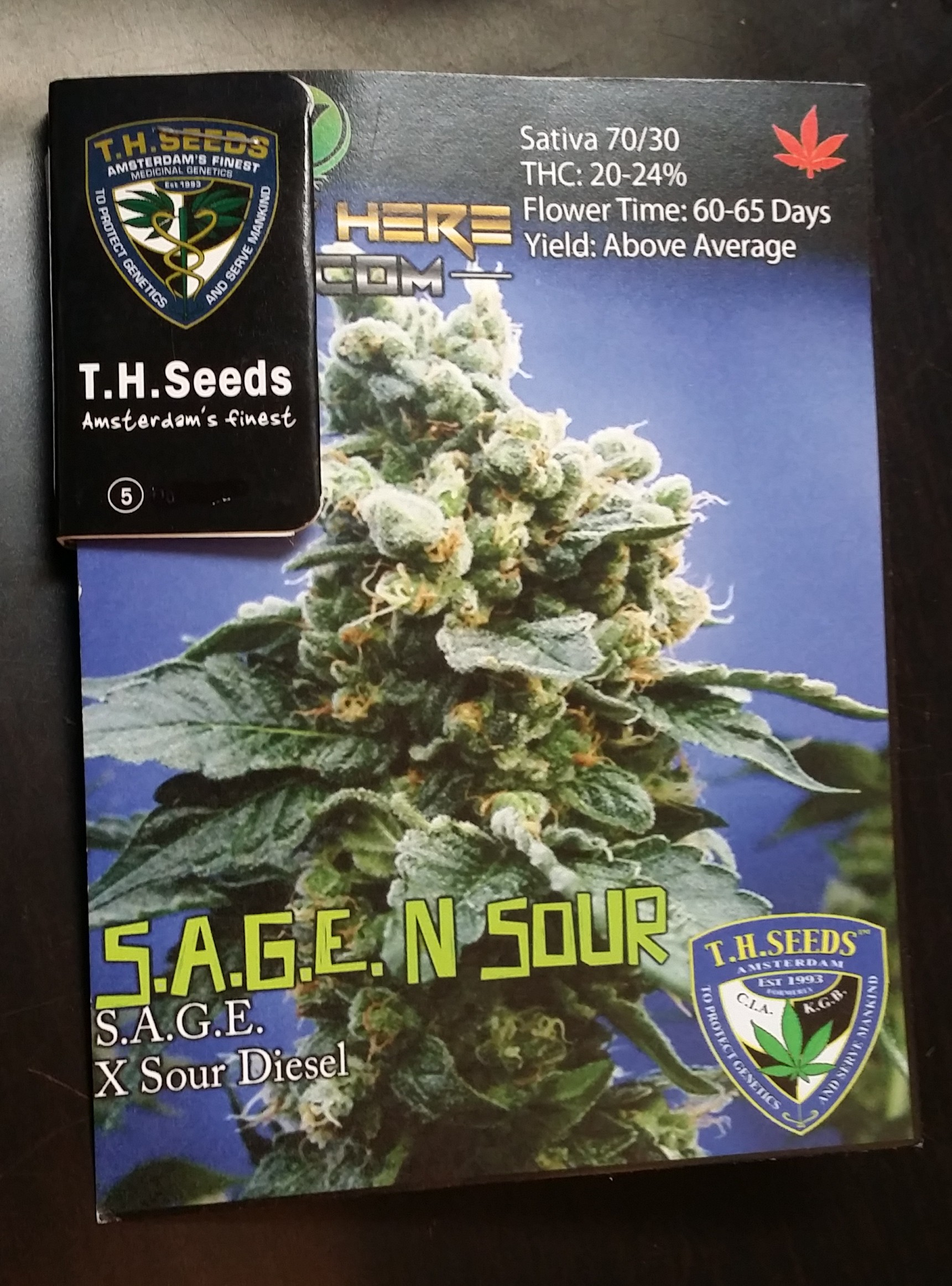 Seeds Here Now Sage n Sour