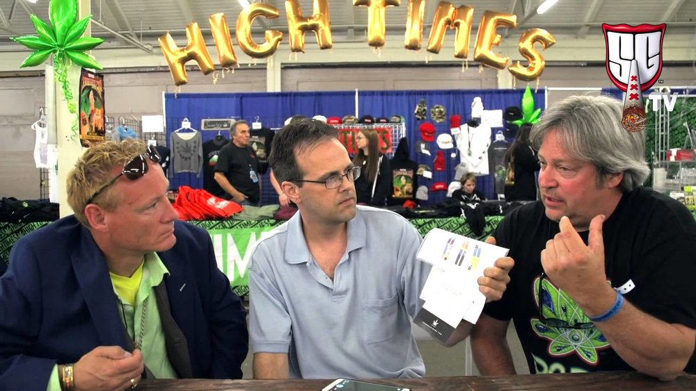 Mathew Gordon speaks at High Times Cannabis Cup