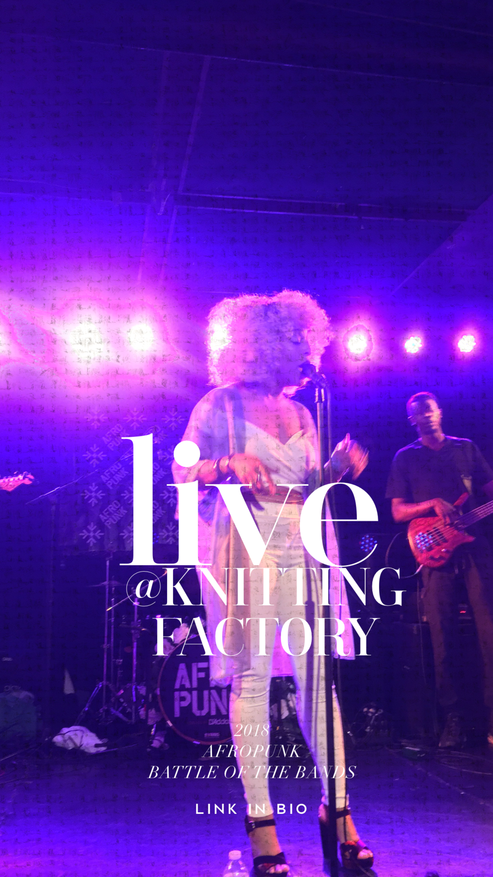 Te'La Live at the Knitting Factory