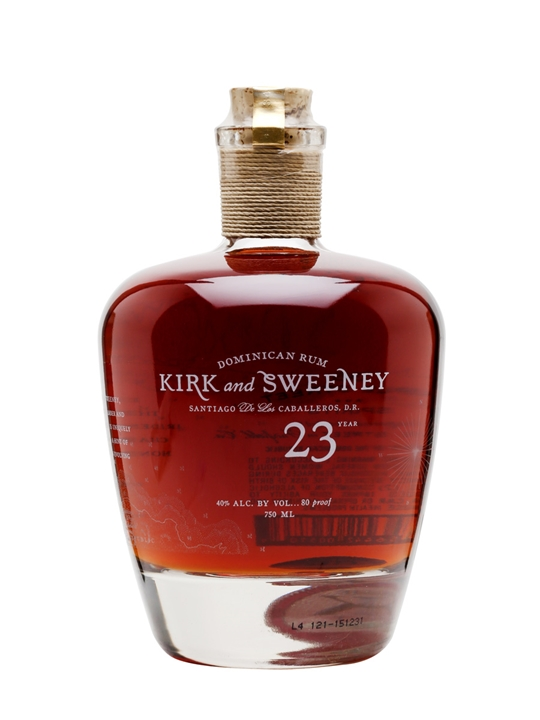 Kirk and Sweeny 23 Year Old Dominican Rum