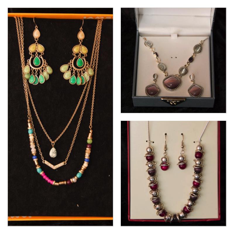 Three Sets of Jewelry