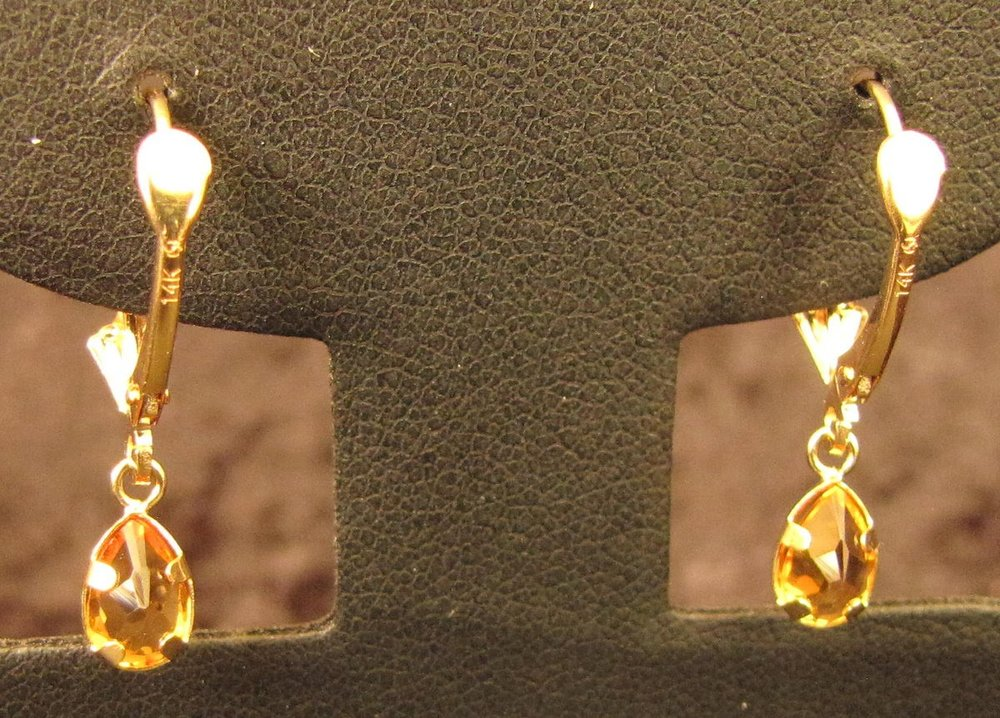 Gold Teardrops