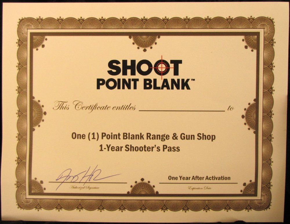 Shoot Point Blank