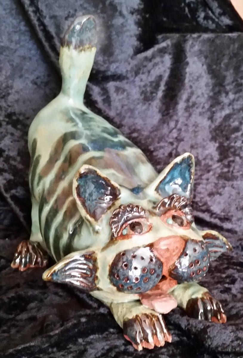 Crazy Cats (3 figurines)