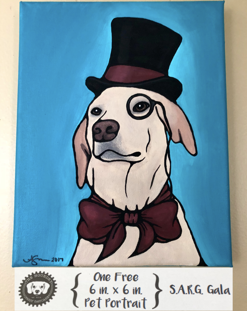 Custom Pet Portrait (example)