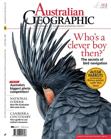 Australian Geographic, Jan/Feb 2013