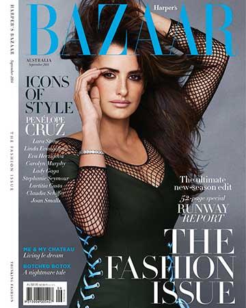 Harper's Bazaar, Sept 2014