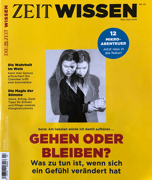Zeit Wissen, March/April 2018