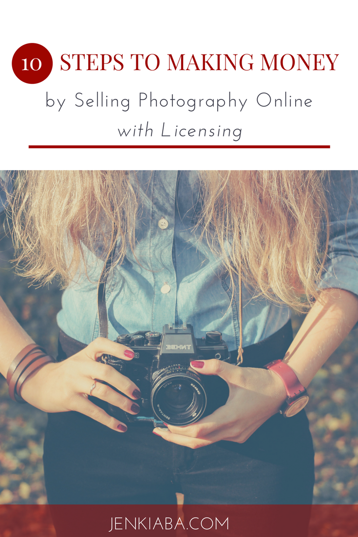 Learn how to make money online by licensing your photography!