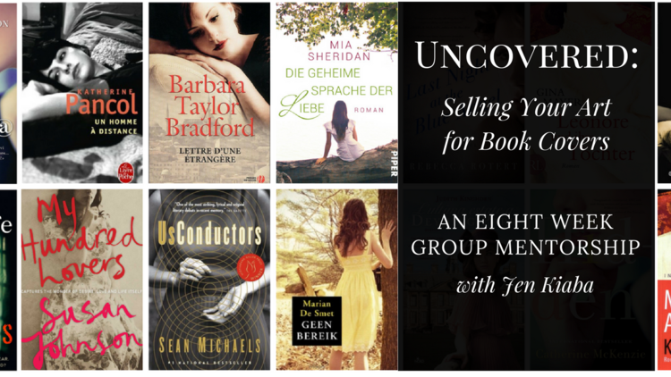 Uncovered is an eight week self-paced mentorship program with Jen Kiaba to teach you how to license your fine art photography for book covers!