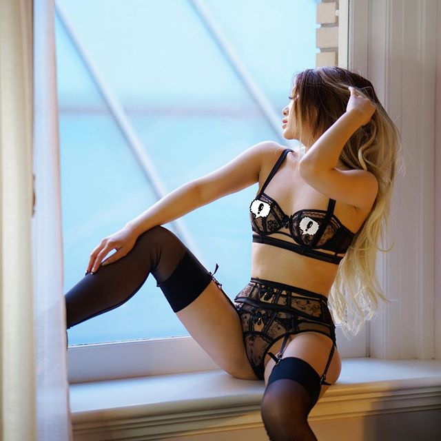 🧸 catch me when I'm back in the Bay 12/7 💕 #honeybirdette #honeybirdettelingerie #lingeriemodel #bayareaphotographer #asiangirls #stockings #asianmodel #blacklingerie #photoshoot #bayareamodel #agentprovocateur #luxurylifestyle