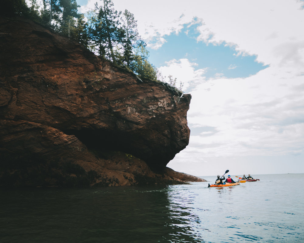 Kayak Tour St Martins