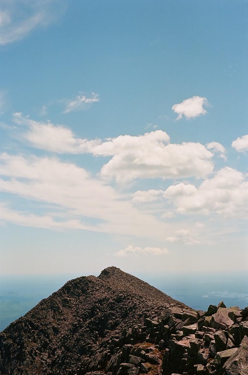 The Summit of Mount Katahdin (5267ft) Photo:  Nick Moeller